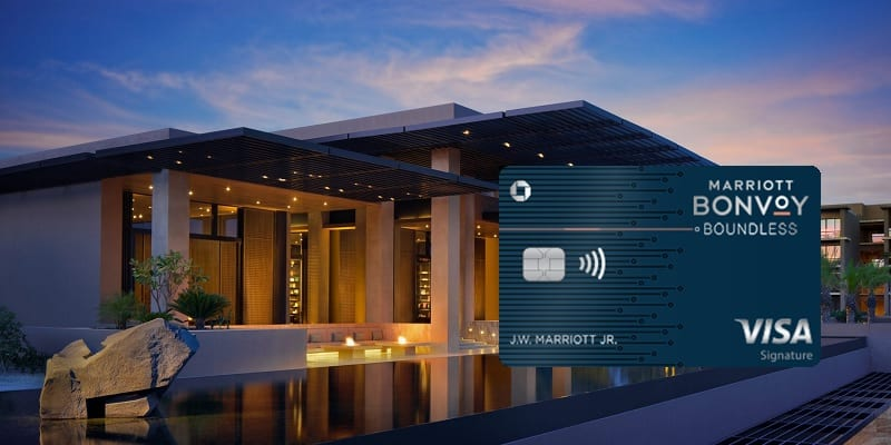 Marriott Bonvoy Boundless credit card bonus promotion offer review
