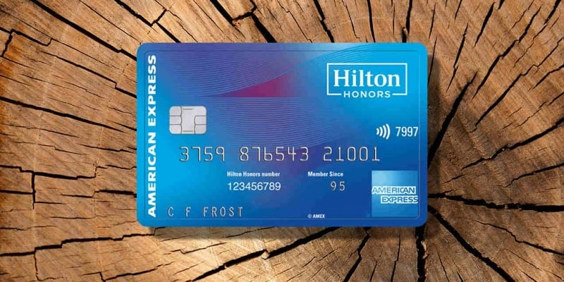 Hilton Honors Card From American Express Bonus 75k Points