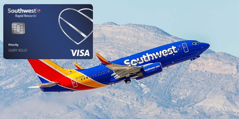 Chase Southwest Rapid Rewards Priority credit card bonus promotion offer review