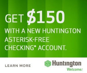 Huntington Asterisk Free Checking