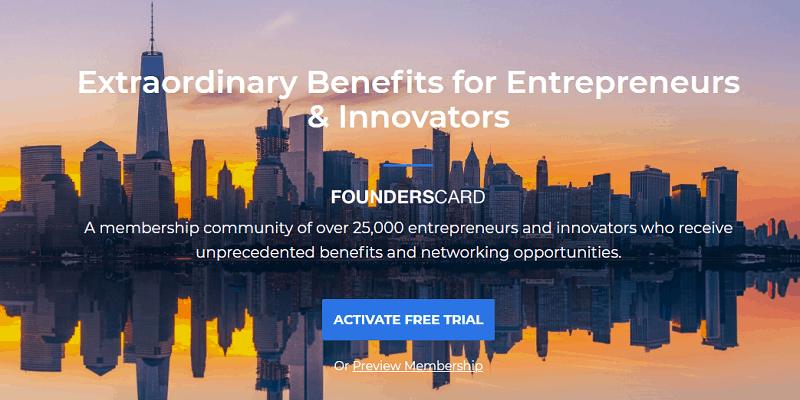 FoundersCard Bonus