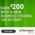 Huntington Business Checking 100