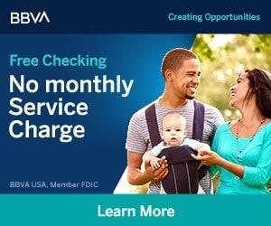 BBVA Free Checking account