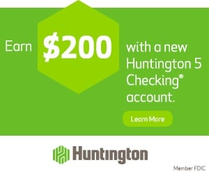 Huntington 5 Checking account