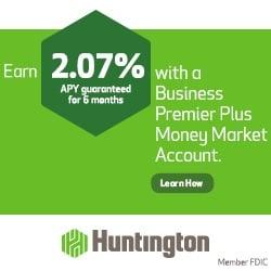 Huntington Business Premier Plus Money Market account