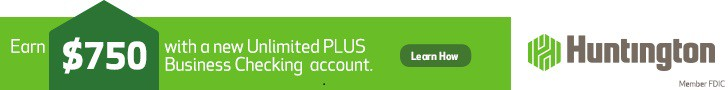 Huntington Unlimited Plus Business Checking Bonus