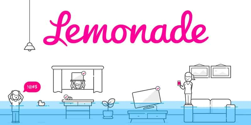 Lemonade (Peer-to-Peer Insurance Provider) Promotions: $20 New Policy Bonus