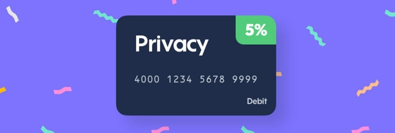 Privacy (Virtual Payment Card) Promotions: $5 Sign-Up Bonus, Up to 5% Cash Back And $5 Referral Offer