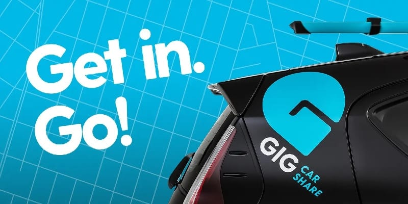 GIG Car Share Promotions: $25 Welcome Bonus And $25 Referral Credits