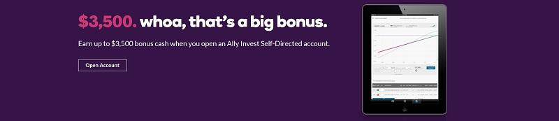 Ally Invest Bonuses