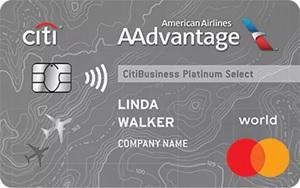 CitiBusiness AAdvantage Platinum Select World Mastercard Bonus