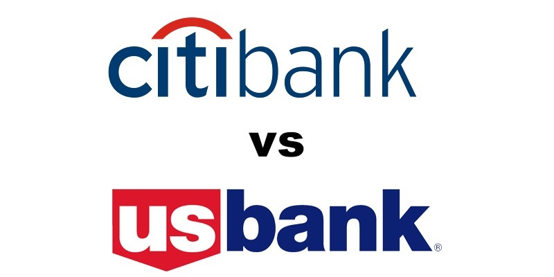 Citibank vs US Bank