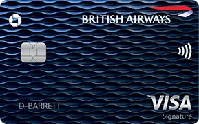 British Airways Visa Bonus