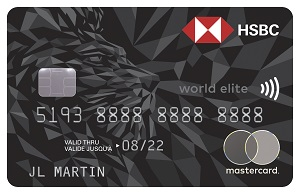 HSBC World Elite Mastercard Bonus
