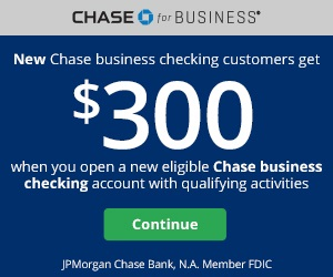 Chase Business Bonus Coupon
