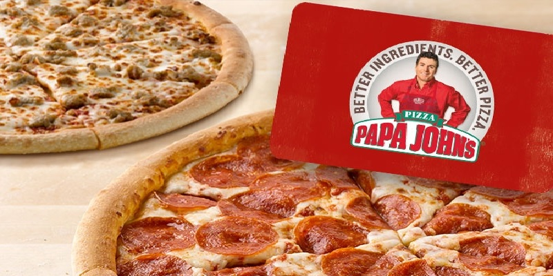 Papa John's Pizza Bonuses: 25% Off With Visa Payment
