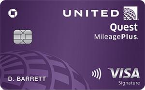 United Quest Card Bonus