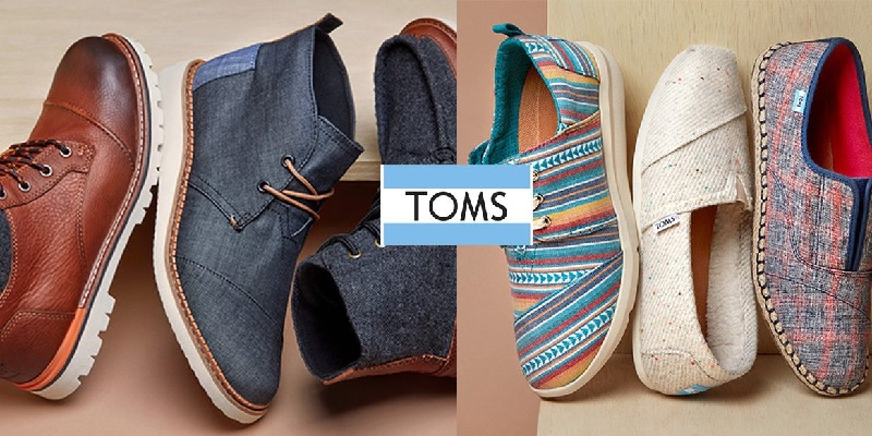 TOMS Shoes Bonuses: $20 Off 1st Purchase, Give $20, Get $20 Referral Credits