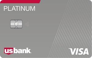 US Bank Visa Platinum Card Bonus
